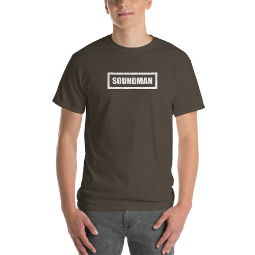 Soundman White Block T-Shirt