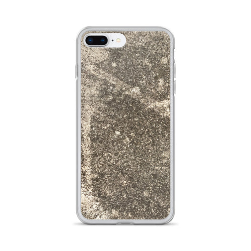 Old Weathered 1940's Concrete Foundation iPhone Case