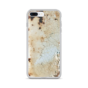 Old 70's Truck Paint Job Peel and Rust iPhone Case