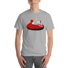 Red Perspective Guitar T-Shirt