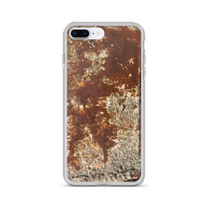 Rusty Concrete Mixer Stuck Cement Matter iPhone Case