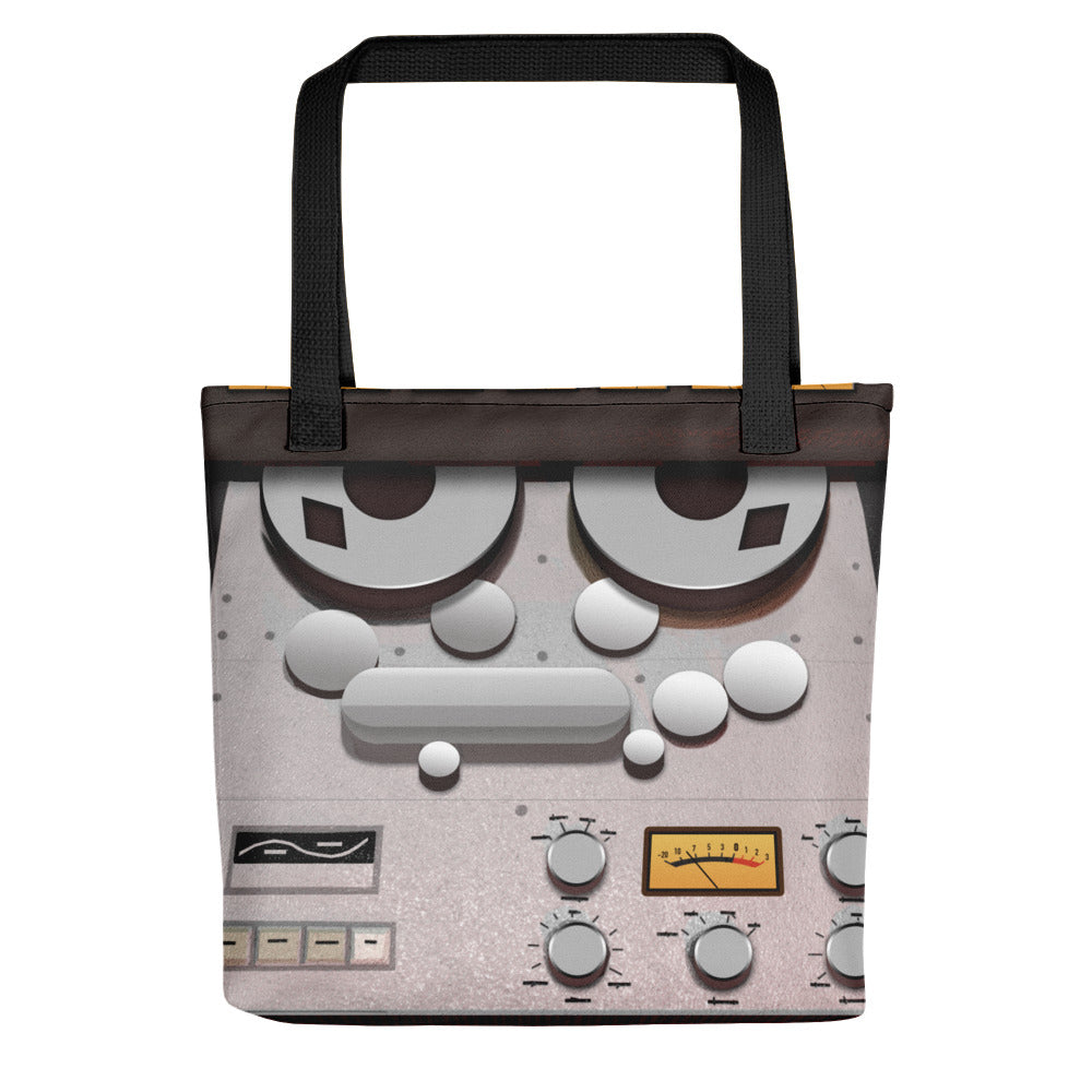 Analog Tape Machine Tote Bag