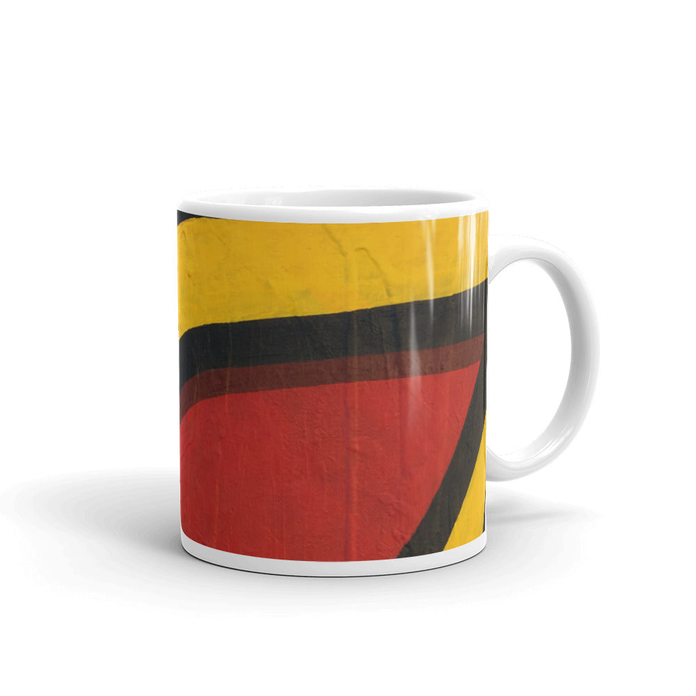 Eagle Eye Painting Mug