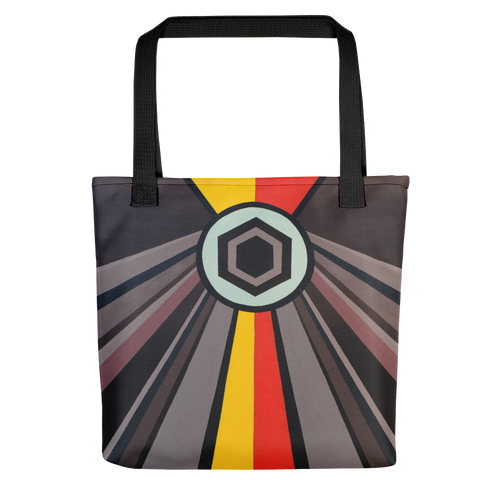 Shining Hex Tote Bag
