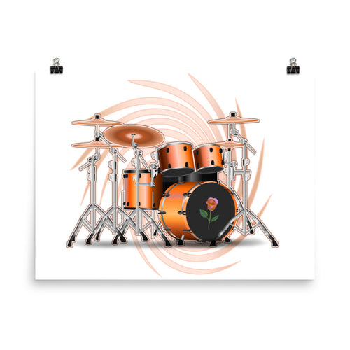 Drum Set Dream Poster