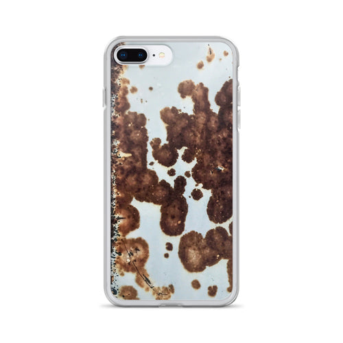 Rust Spotted Welded Metal Trough iPhone Case