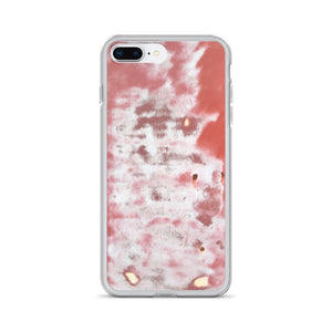 Bondo Half-Finished Red Faded Car Hood Repair iPhone Case