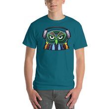Colorful Owl with Headphones T-Shirt
