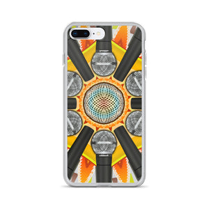 Stage Mic Explosion iPhone Case