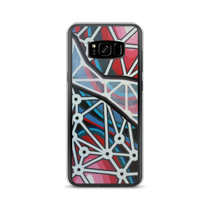 Polygon Space Rip Samsung Phone Case