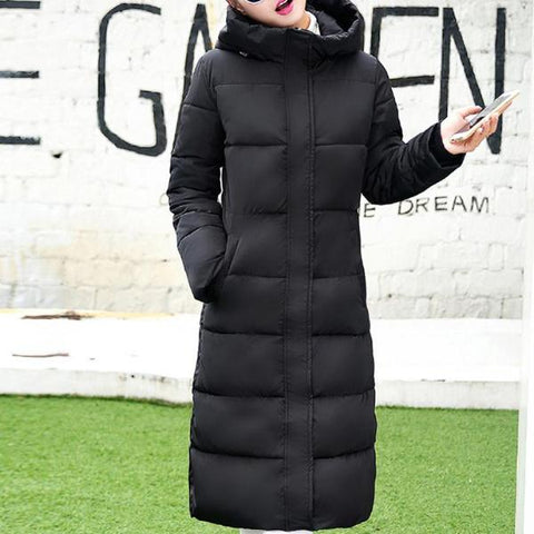 Women's Knee Length Winter Coat