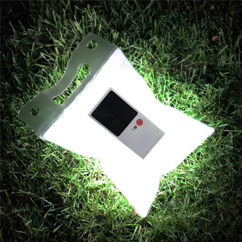 Waterproof Foldable Inflatable Solar Lamp