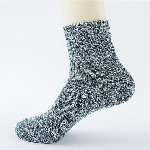 Thermal Merino Wool Socks - Five Pairs