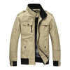 Image of Mountainskin Casual Men's Military Jacket