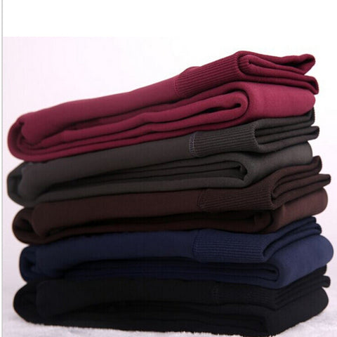 Velvet Fleece Lined Winter Leggings