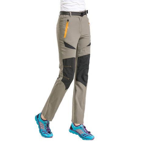 Quick Dry Lightweight Hiking Pants with Gore-Tex - Women's