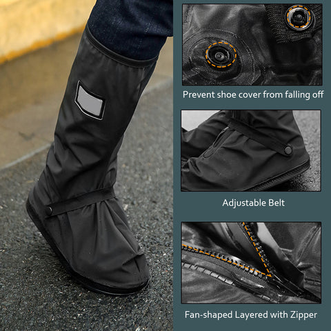 Waterproof and Snowproof Shoe Covers