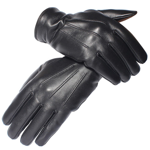 Genuine Leather Gloves - Men's