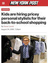 Kids Are Hiring Pricey Personal Stylists For Their Back-To-School Shopping - New York Post