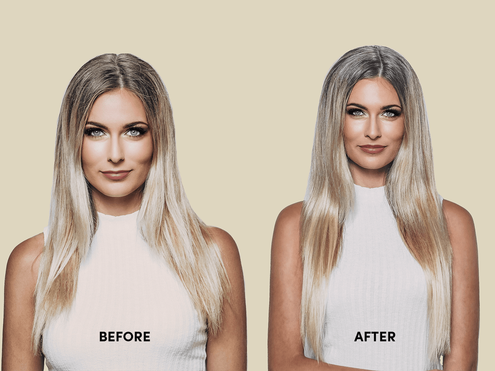 Real Results Before After Erabella Hair Extensions