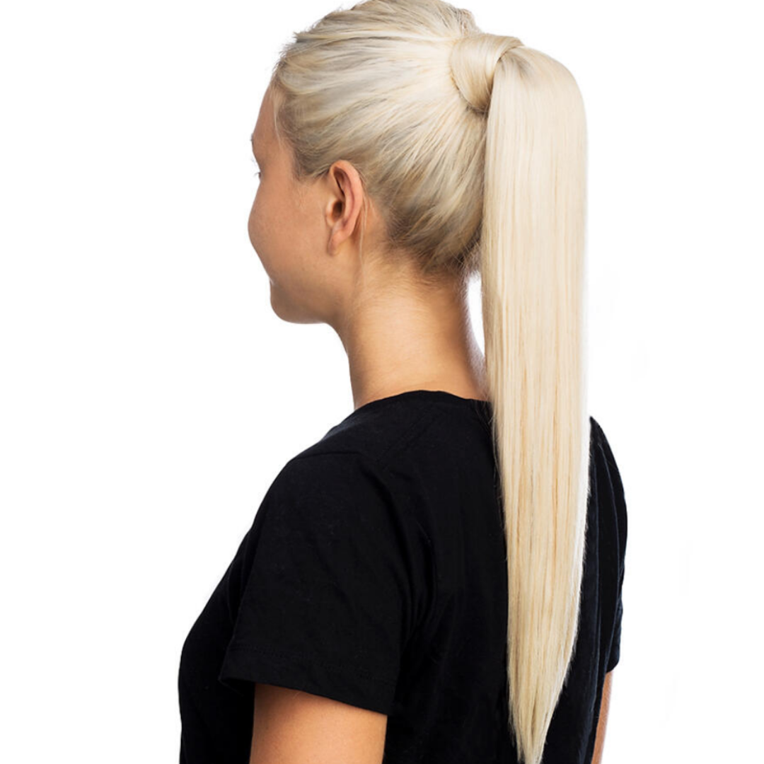 "20"" Ponytail Ash Blonde #60"