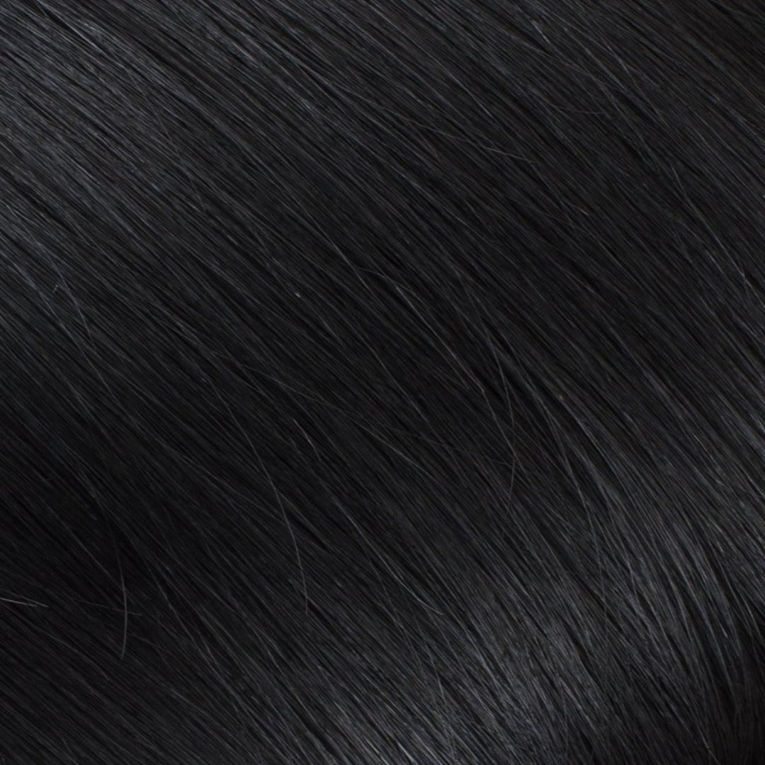 "20"" Ponytail Jet Black #1"