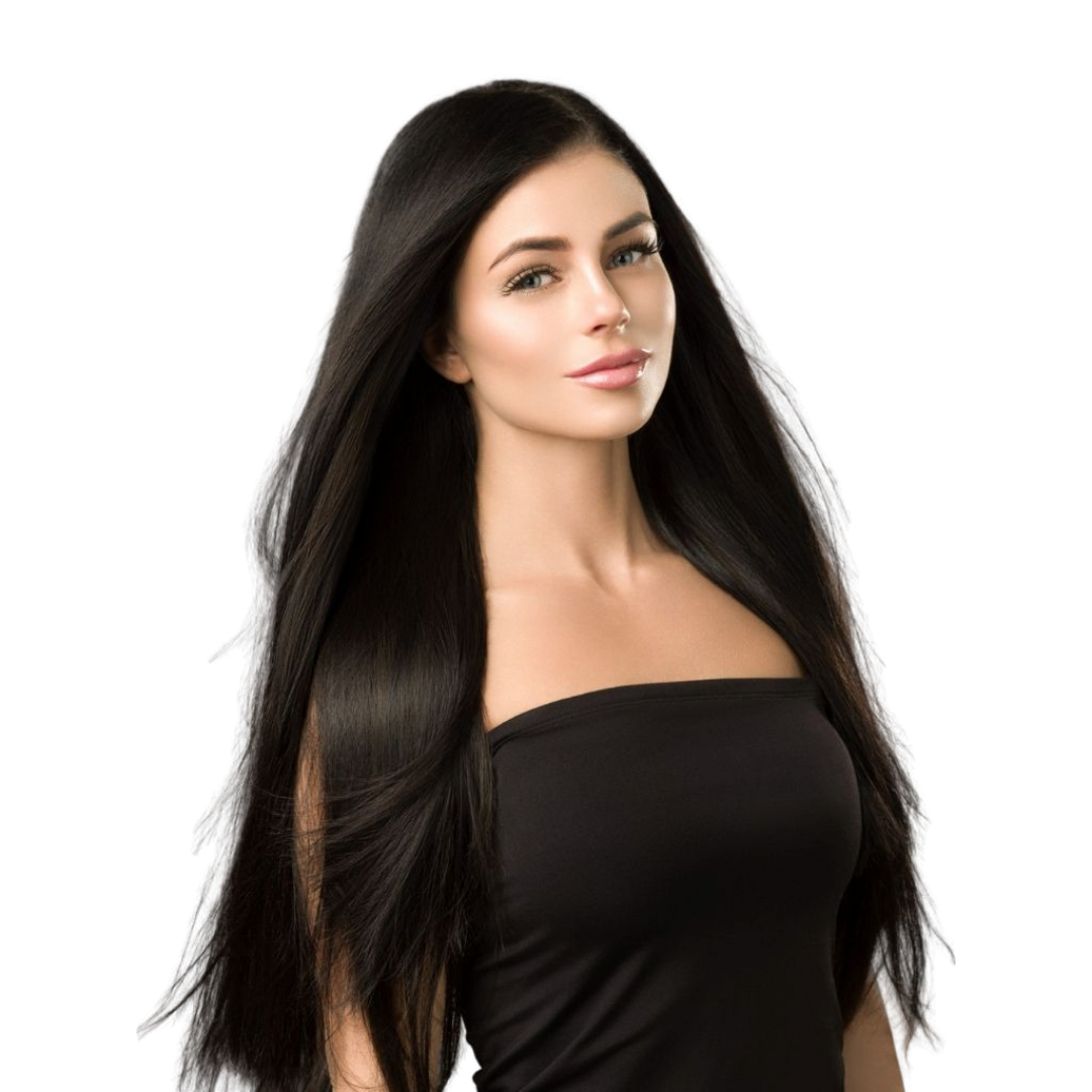 "20"" Ponytail Off Black #1B"
