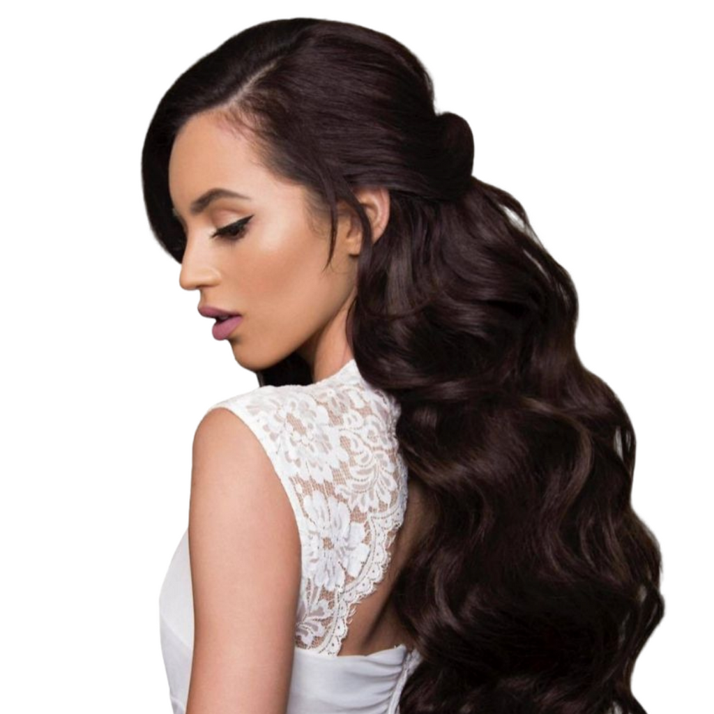 "20"" Ponytail Dark Brown #2"