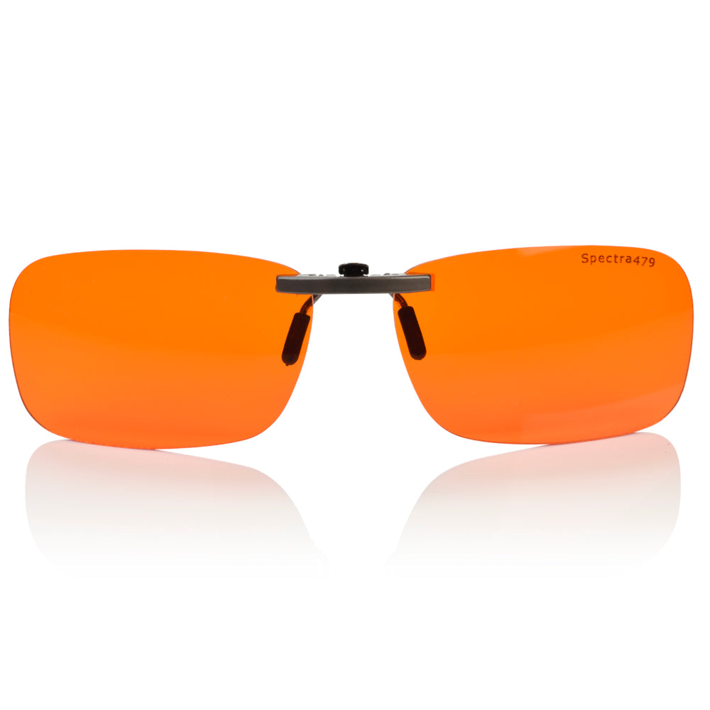 Clip-On Lenses - Blue Blocking Nighttime Eye Wear