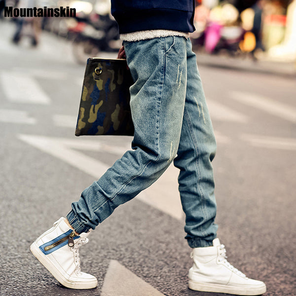Men's Jeans Distressed Jean Joggers