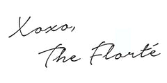 The Florté - Blog - Sign Off