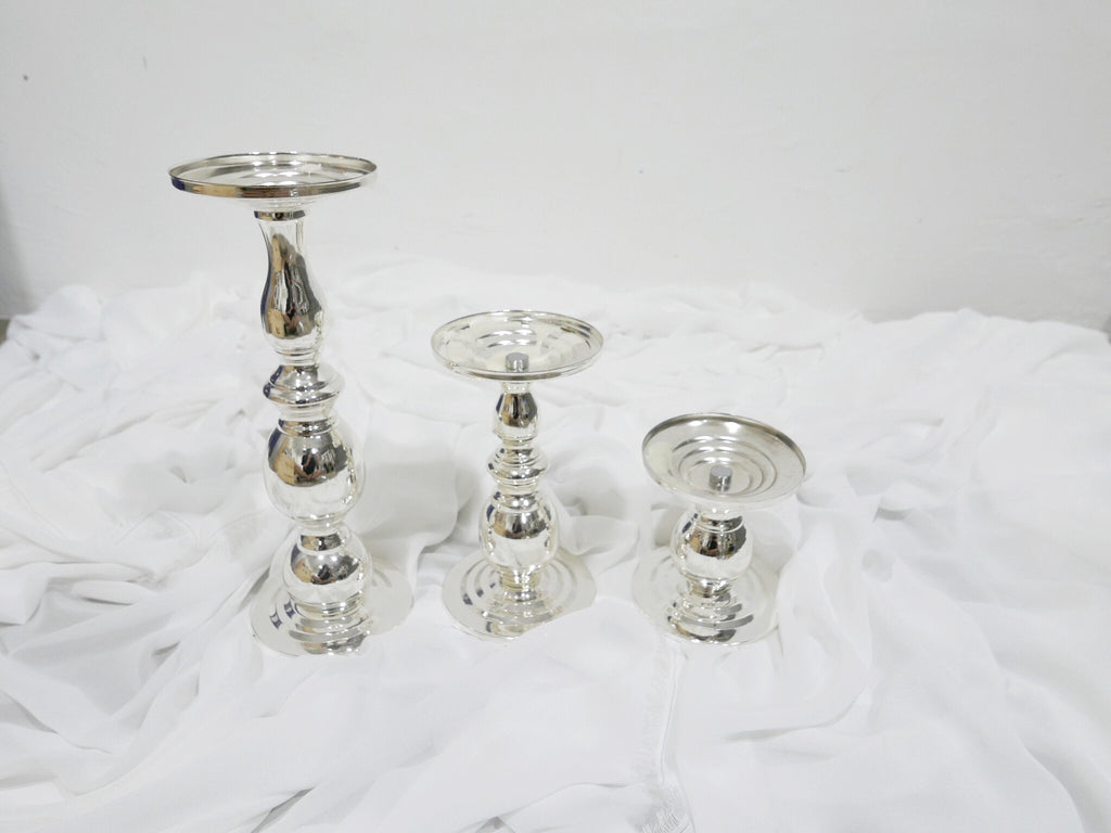 Sliver Candle Holder, Table Décor