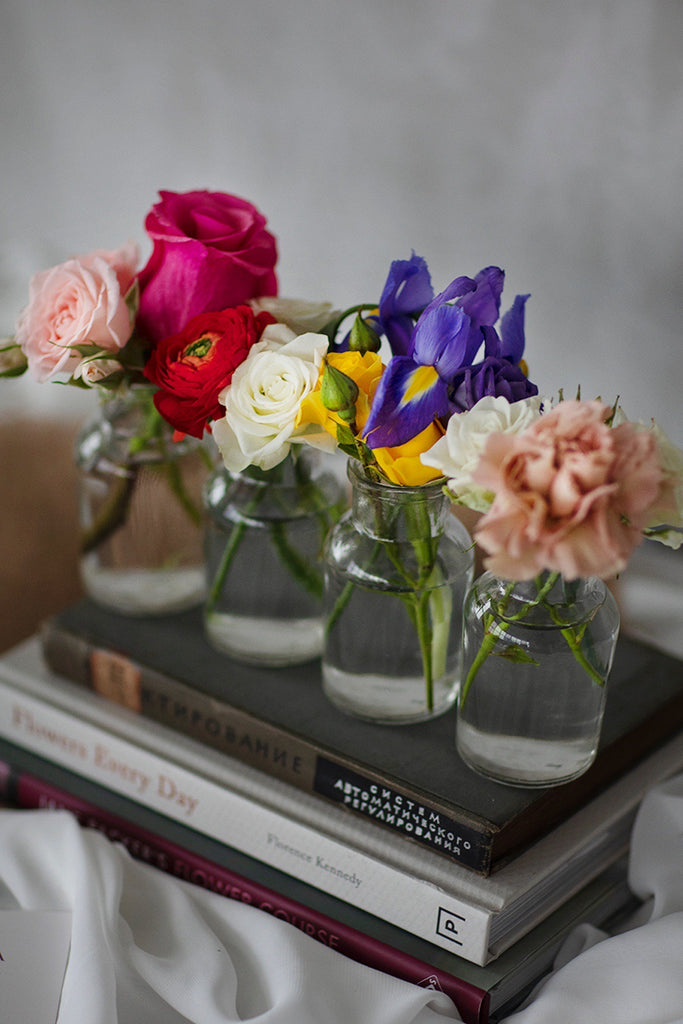 The Florté | Bottles & Jars Flower Posies, Table Vase