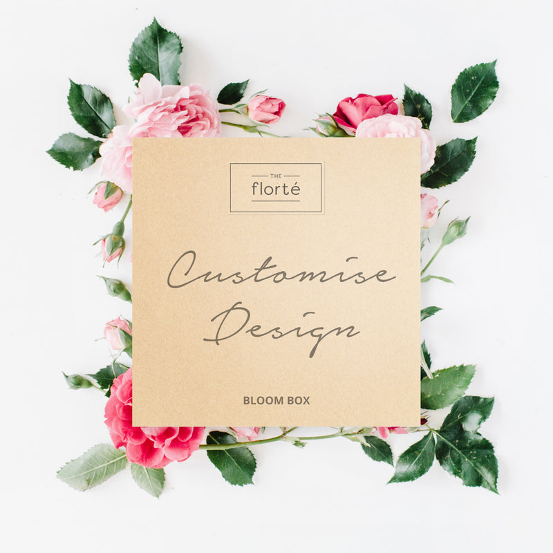 The Florté | Customise Design, Bloom Box, Custom Order, Designer Artisan Choice, Customisable