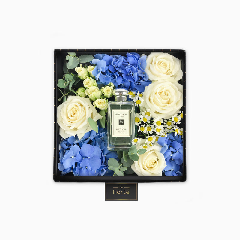 The Florté | Everlasting Royalty, Diptyque Baies - Candle, Gift Set