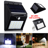 LED Solar Power Motion Sensor Light