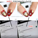Intelligent LED Nail Sticker