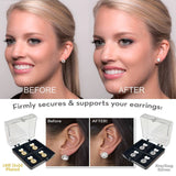 Copy of 18K Gold Hypoallergenic Support Earring Backs