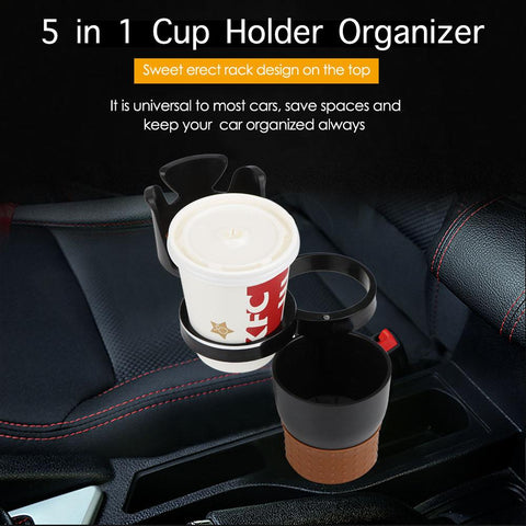 5 in 1 Cup Holder Organizer