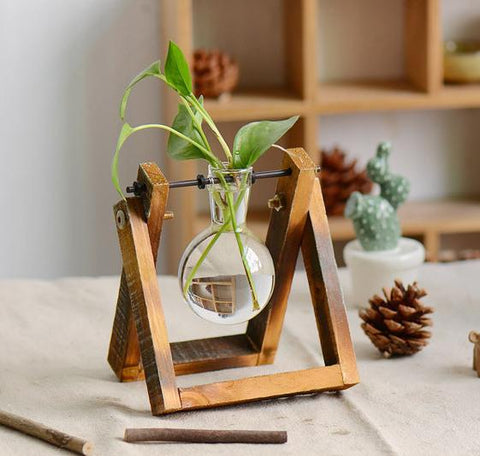 Bulb Wooden Stand