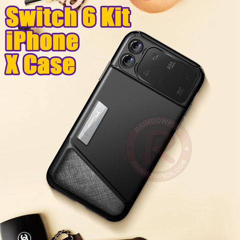 Switch 6 Kit iPhone X Case