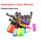 Glass Markers Set