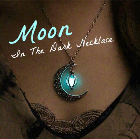 Moon In The Dark Necklace