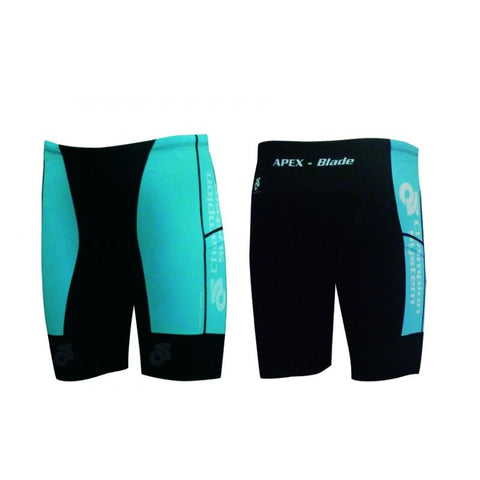 CS Apex Blade Triathlon Shorts - Front and back