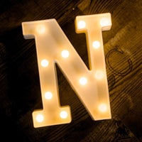 Alphabet N LED Light