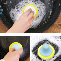 Cleaning Sponge with tray