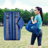 Gym and travel backpack