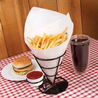 French Fries Holder with Condiment Stand