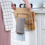 Chopping Board & Towel Rack