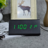 LED Wooden Clock
